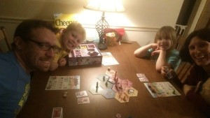 The Family Gamers playing Takenoko