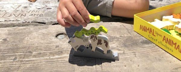 Animal upon Animal Crest Climbers stacking