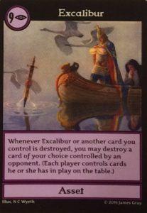 Excalibur card