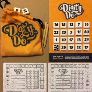 digit'y do setup: gamepads, pencils, number tiles