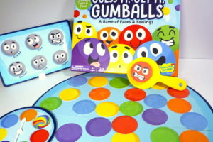 Guess It, Get It, Gumballs box and gameboard