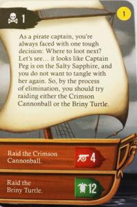 Cardventures Jump Ship card