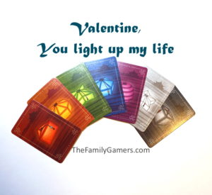 Valentine, you light up my life