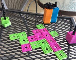 OK Play on an outdoor table
