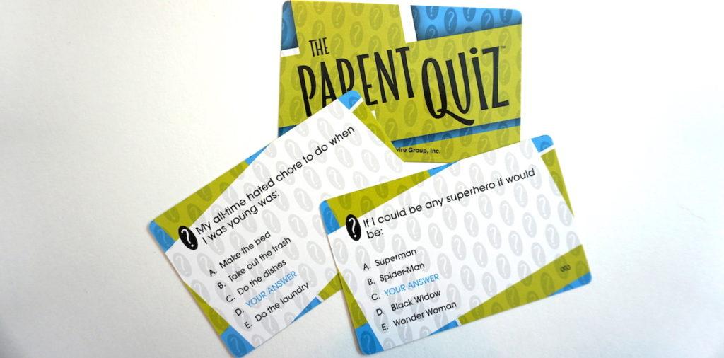 The Parent Quiz cards
