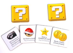 Super Mario Level Up question blocks