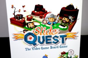 Slide Quest: The Video Game Board Game