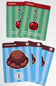 Cherries and Ice Cream cards