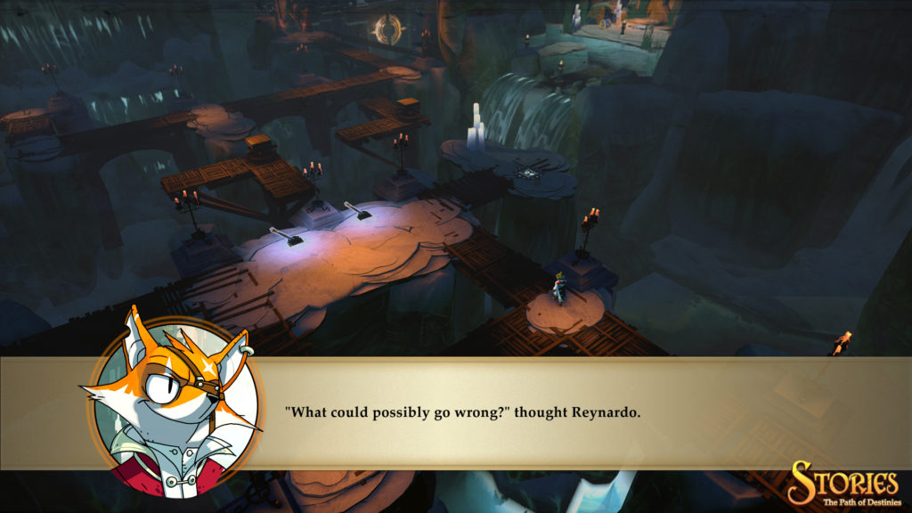 """""""What could possibly go wrong?"""" thought Reynado."""