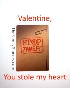 Valentine, you stole my heart