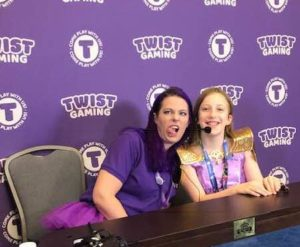 TWIST gaming - Ann and Claire