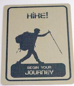 10 Essentials card: Hike! Begin Your Journey