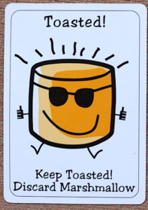 Toasted card