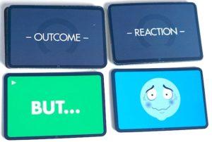 Untold Outcome and Reaction