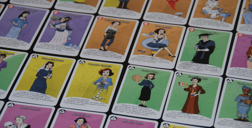 Women in Science cards