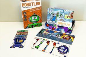 RobotLab game components