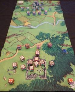 Cube Quest set up